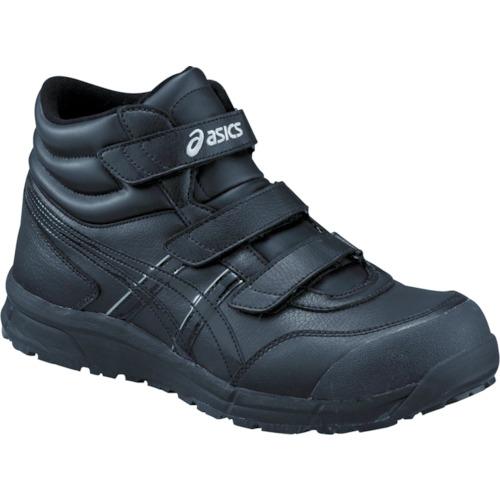 アシックス ウィンジョブCP302 ブラックXブラック 26.0cm FCP302.9090-26.0