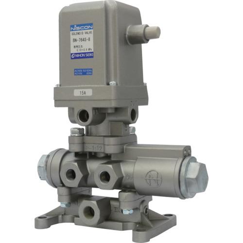 日本精器 4方向電磁弁 8A AC100V 76シリーズ BN-764S-8-E100