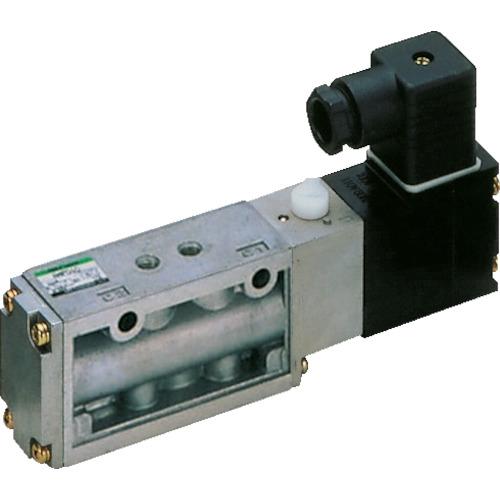 CKD 4Fシリーズパイロット式5ポート弁セレックスバルブ 3.0C[dm[[の3乗]]/(S・bar)]/音速コンダクタンス 4F210-08-AC100V