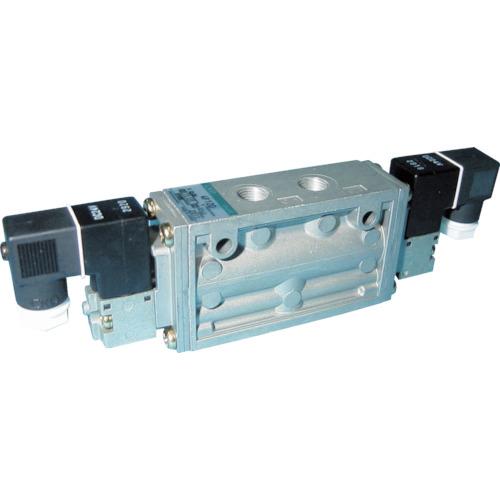 CKD 4Fシリーズパイロット式5ポート弁セレックスバルブ 2.0C[dm[[の3乗]]/(S・bar)]/音速コンダクタンス 4F120-06-AC200V