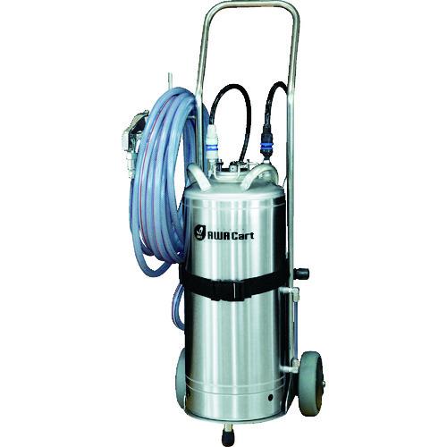 【運賃見積り】【直送品】いけうち 洗浄液発泡スプレーユニット AWACart-S ステンレスガンタイプ AWA CART-S