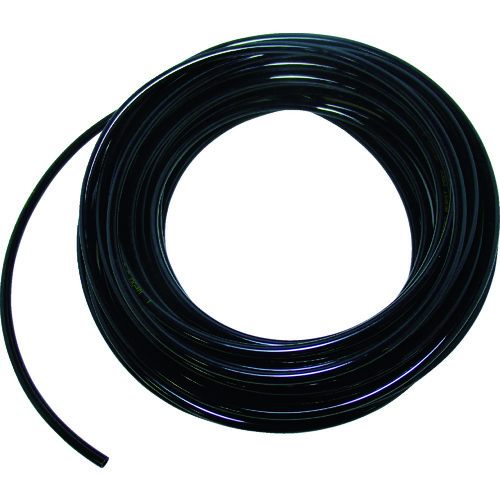 TRUSCO ウレタンチューブ 8X5.0 100M 黒 TPT-0805-100BK