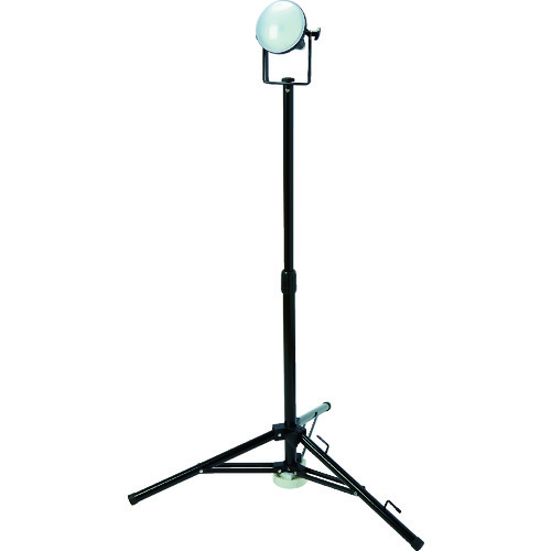 【個別送料1000円】【直送品】TRUSCO LED投光器 DELKURO 三脚タイプ 1灯 20W 5m アース付 2芯3芯両用タイプ RTLE-205EP-SK