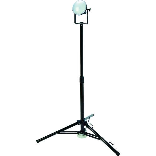 【個別送料1000円】【直送品】TRUSCO LED投光器 DELKURO 三脚タイプ 1灯 20W 10m アース付 2芯3芯両用タイプ RTLE-210EP-SK