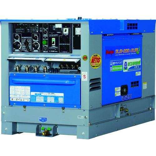 【直送品】デンヨー ディーゼルエンジン溶接機超低騒音型 DLW-200X2LSE