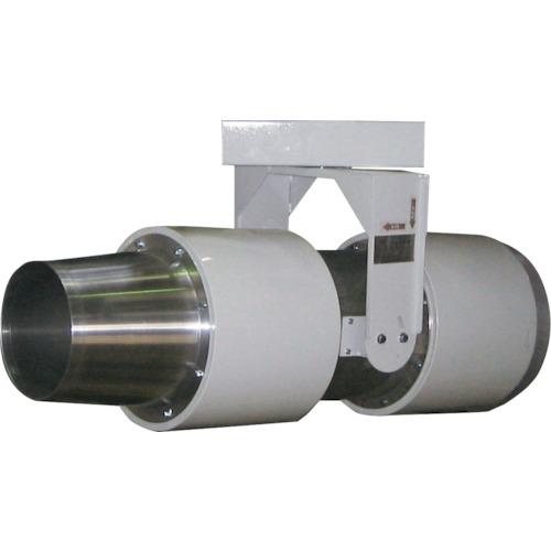 【直送品】テラル 誘引ファン(サイレンサー付き Sタイプ) 吐出口外径140mm SF160-4F-0.03(4)RR-3-200-S
