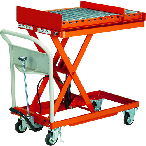 【直送品】TRUSCO 金型移動用ハンドリフター 900kg 600X1200 HLFA-E1000M1