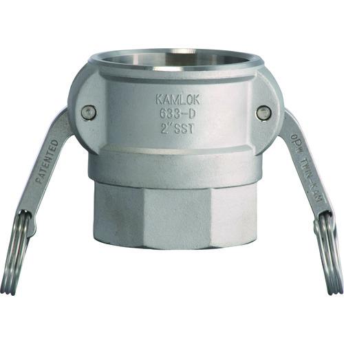 トヨックス カムロックカプラー メネジ ステンレス 1-1/2インチ SST 633-DB 1-1/2 SST