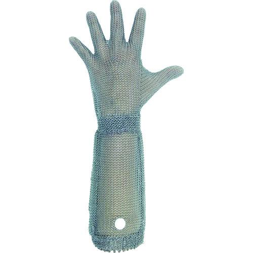ミドリ安全 ステンレス製 耐切創クサリ手袋 5本指 ロングタイプ WILCO-550 Sサイズ 1枚 WILCO-550-S
