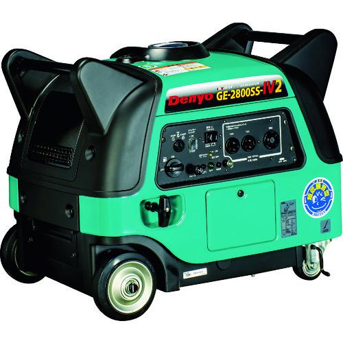 【直送品】デンヨー 防音型インバータ発電機 GE-2800SS-IV2