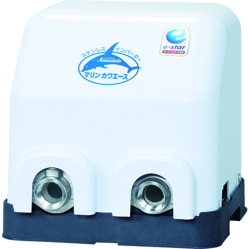 【直送品】川本 小型海水用加圧ポンプ(マリンカワエース) 0.4kw 全揚程25m NFZ2-400S