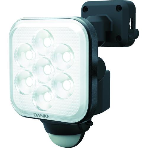 ダンケ 8W×1灯 フリーアーム式LEDセンサーライト E40108