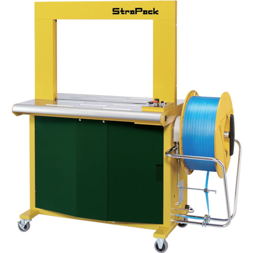 【運賃見積り】【直送品】ストラパック 自動梱包機 SQ-800
