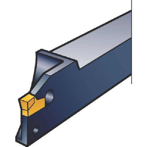 サンドビック T-Max Q-カット 突切り・溝入れ用シャンクバイト L151.20-1212-20