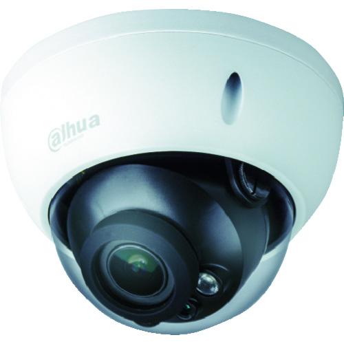 【運賃見積り】【直送品】Dahua 200万画素 IP 赤外線付防水ドーム型カメラ φ122×88.9 ホワイト DH-IPC-HDBW2221RN-ZS