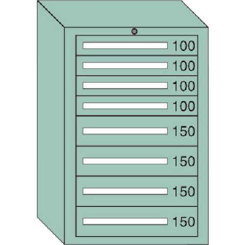【直送品】OS 中量キャビネット 間口693×奥行557×高さ1081mm 6-1008