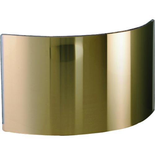 JUTEC 耐熱保護服 フード フリーサイズ用 ガラスバイザー ゴールド HWS1022G
