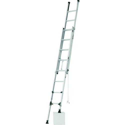 【直送品】アルインコ 脚伸縮式二連はしご 4.6m 最大使用質量 100kg ANE47FX
