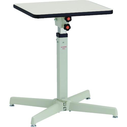 【直送品】TRUSCO ローハイシステムテーブル フリーロック式 450X450 LH-F451M