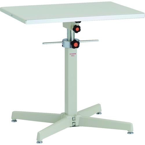 【直送品】TRUSCO ローハイシステムテーブル ジャッキアップ式 600X450 TRS-600S