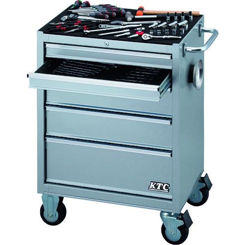 【運賃見積り】【直送品】KTC 9.5sq.ローラーキャビネット採用 工具セット SK3680RXS