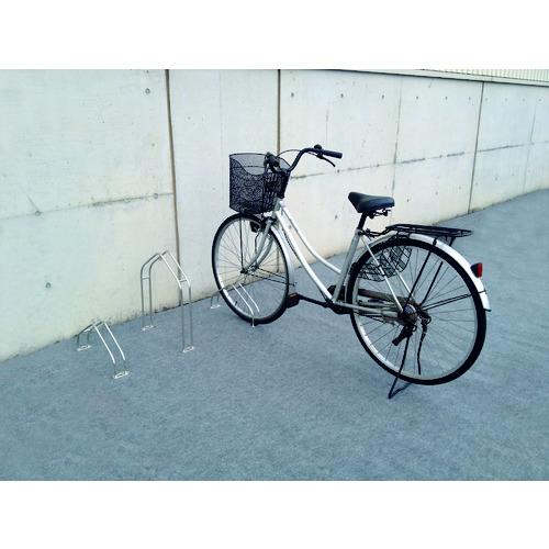 【運賃見積り】【直送品】ダイケン 平置き自転車ラック独立式サイクルスタンド スタンド小タイプ CS-MU1A-S