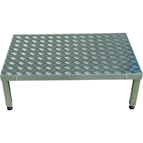 【直送品】アルインコ 低床作業台(連結式・縞板タイプ) LFS LFS0906G