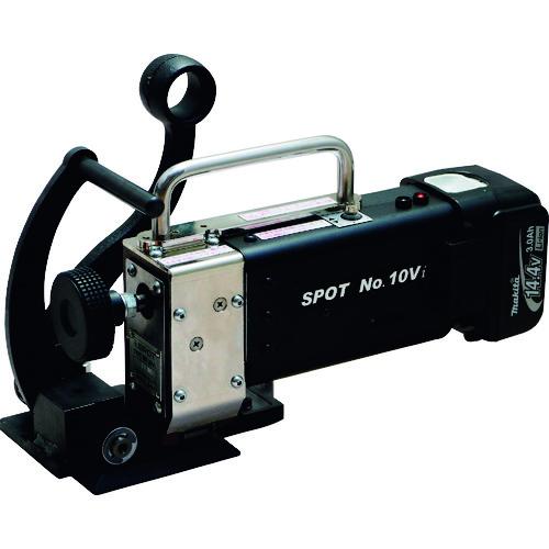 【運賃見積り】【直送品】SPOT コードレス結束機 No.10Vi Vバンド/ポリエステルバンド用 NO.10VI-H