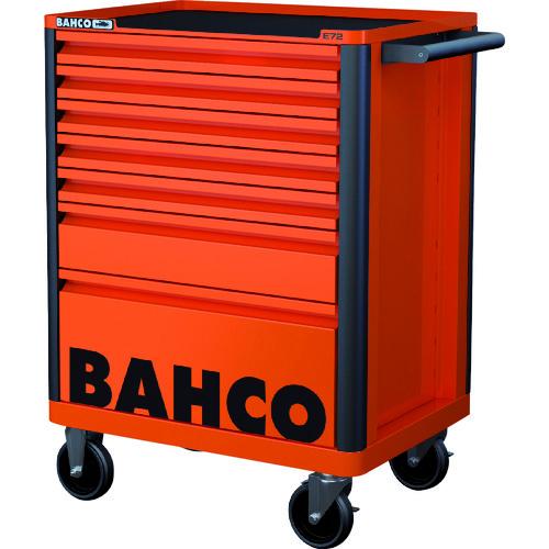 【直送品】バーコ BAHCOツールストレージエントリー オレンジ8段 1472K8