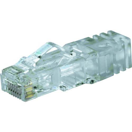 パンドウイット カテゴリ6A 細径ケーブル用モジュラープラグ AWG26単線・撚線 100個入り SP6X88SD-C SP6X88SD-C