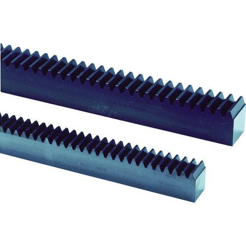 【直送品】KHK 両端面加工ラックSRF6-1500 SRF6-1500