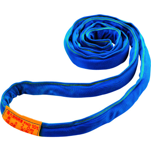 【直送品】シライ マルチスリングLIGHT(最大使用荷重20t) 幅×厚さ:30×95mm FND-W200X3.0