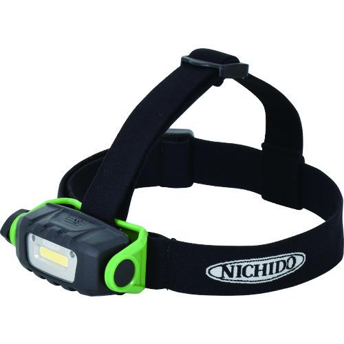 充電式LEDセンサーヘッドライト SHL-A2W-PIR-CH 屋外型 日動 2W