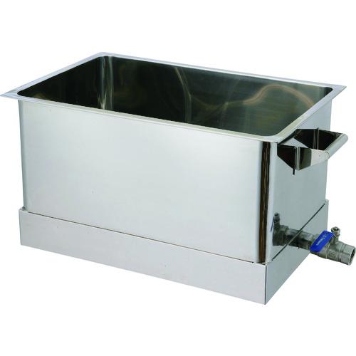 【運賃見積り】【直送品】オオモリ 洗浄槽 R底 100L OM1013-37