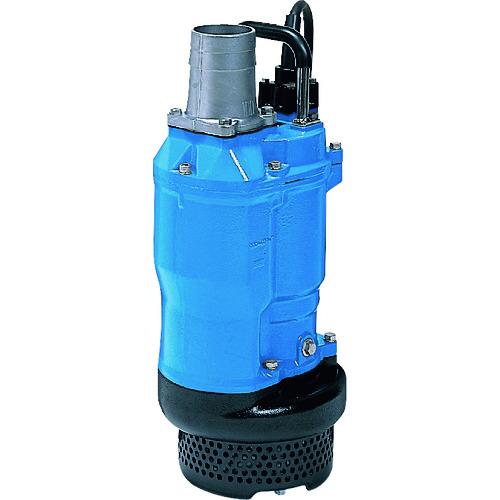 【直送品】ツルミ 一般工事排水用水中ポンプ 60HZ 口径80mm 三相200V KTZ33.7-63 60HZ