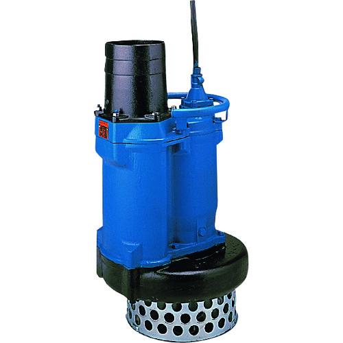 【1/10限定!Wエントリーでポイント14倍!】【運賃見積り】【直送品】ツルミ 一般工事排水用水中ポンプ 50HZ 口径80mm 三相200V KRS2-D3 50HZ