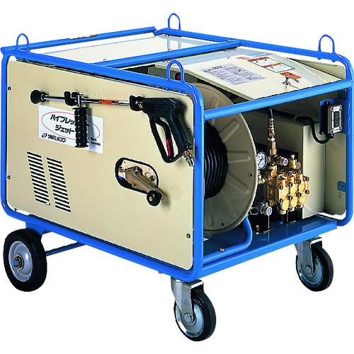 【直送品】ツルミ 高圧洗浄機 モータ駆動式(ベーシックタイプ) 61.7L/min 5.9MPa HPJ-1060-3 60HZ