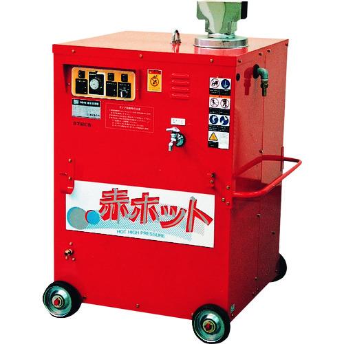 【直送品】ツルミ 高圧洗浄機 モータ駆動式(温水タイプ) 15L/min 8.0MPa HPJ-22HC7 50HZ