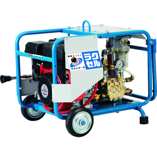 【直送品】ツルミ 高圧洗浄機 エンジンシリーズ(セル付きタイプ) HPJ-6150ES