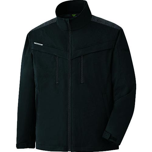 ミドリ安全 VERDEXCEL ストレッチ防寒ジャンパー VE2009 上 ブラック LL VE2009-UE-LL