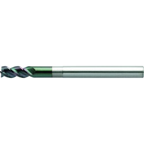 ユニオンツール 3枚刃DLCコートロングネックスクエア 外径11×有効長33×刃長22×全長110 DLC-AZS3110-330