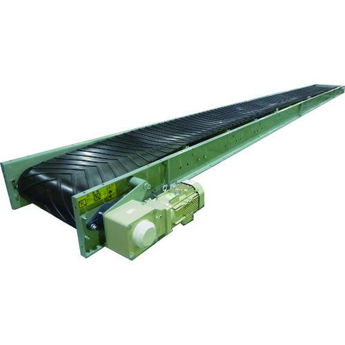 【運賃見積り】【直送品】KYC バラ物用コンベヤ450幅 機長10m 2点キャリア式 SMVZ45-10
