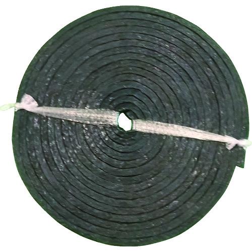 幅25.4mm グランドパッキン PTFE含浸炭化繊維 ダイコー D4101-25.4 D4101