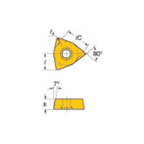 サンドビック コロマントUドリル用チップ 235 10個 WCMX 05 03 S R-54:235