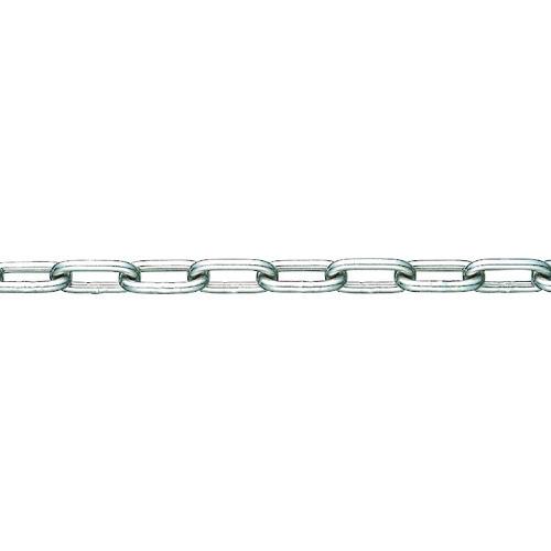【直送品】水本 SUS304ステンレスチェーン22-S 長さ・リンク数指定カット 2.1~3m 304-22-S-3C
