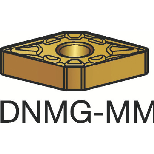 サンドビック T-Max P 旋削用ネガ・チップ 2025 10個 DNMG 15 04 12-MM:2025