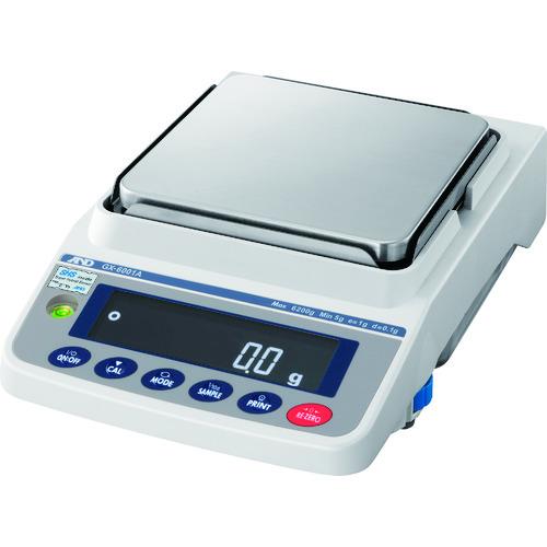 【直送品】A&D 校正用分銅内蔵汎用天びん GX-6001A 一般校正付 GX6001A-00A00