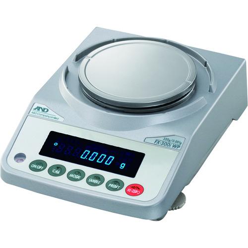 【直送品】A&D 防塵・防水汎用天びん FX300iWP 一般校正付 FX300IWP-JA-00A00