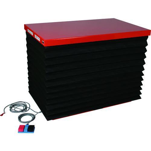 【直送品】TRUSCO テーブルリフト300kg 油圧式 600X950 蛇腹付 HDLA-30-0609J