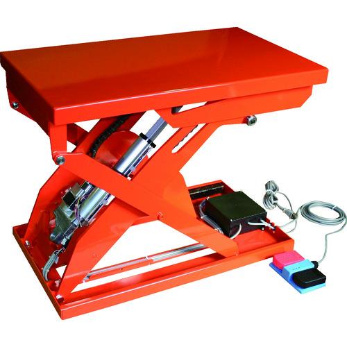 【直送品】TRUSCO テーブルリフト250kg(電動Bねじ式100V)520×850mm HDL-H2558R-12